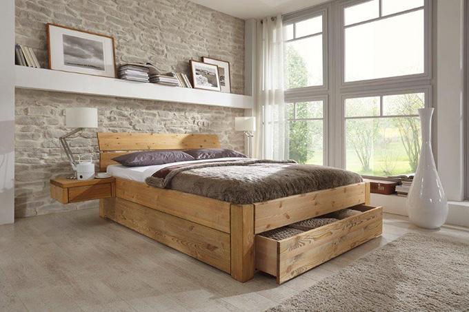 Rustikal bett  Easy Sleep • Wünsch Dir Was Betten • Hersteller Tjornbo