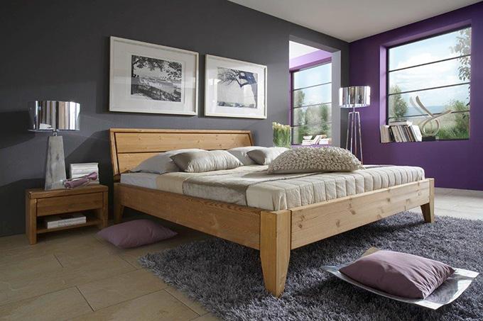 Bett mit nachttisch fabulous bett mit bettkasten und for Deko fa r nachttisch