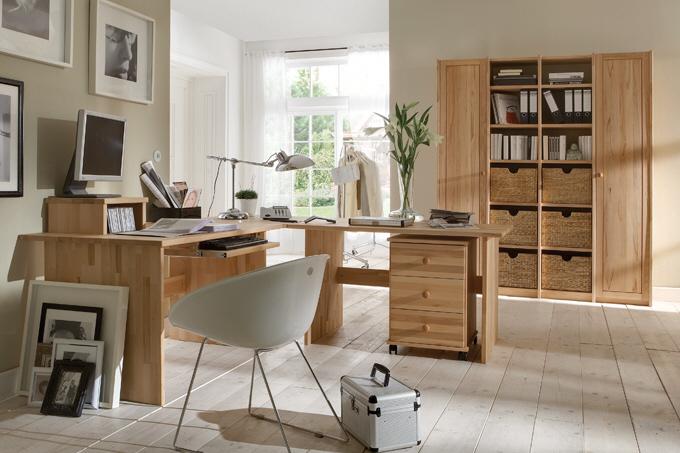 Büromöbel design holz  Massive Büromöbel • Massivholzmöbel • Casa Dormagen