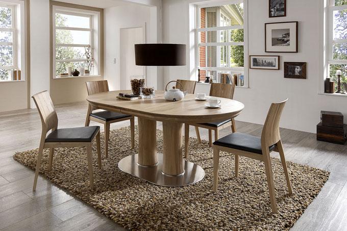 Ovaler Esstisch Holz ~ Esstisch u rund oval quadratisch u esszimmer u casa dormagen