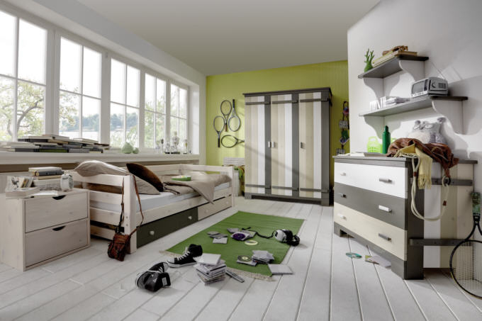 jugend kinderm bel aus massivholz casa cormagen. Black Bedroom Furniture Sets. Home Design Ideas