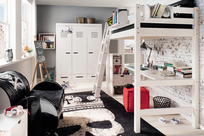 moebel fuer jugendzimmer, jugend- & kindermöbel aus massivholz • casa cormagen, Design ideen