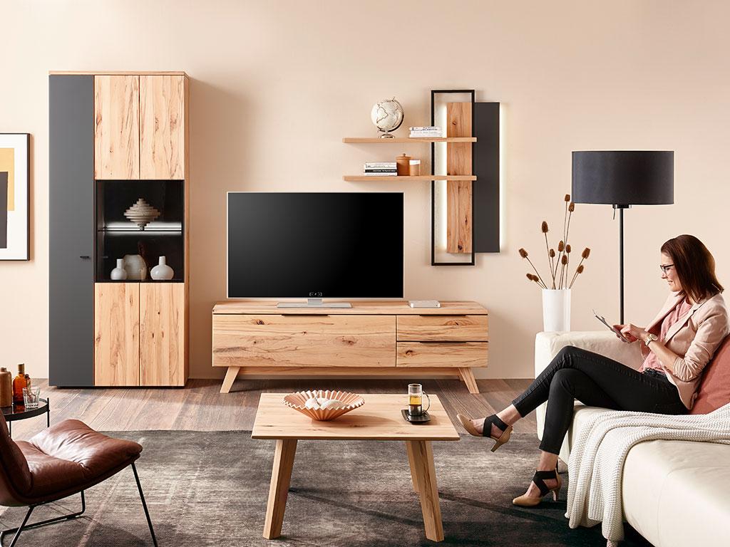 Bologna Massivmöbel Im Wohnzimmer