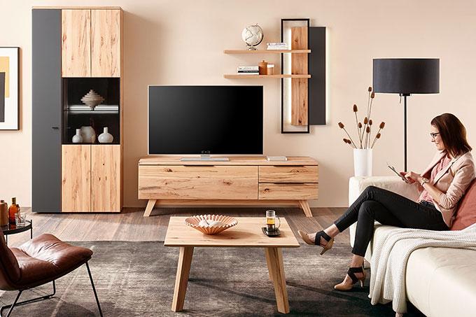 Wohnzimmer - Möbel & Wohnideen aus Massivholz • Casa Dormagen