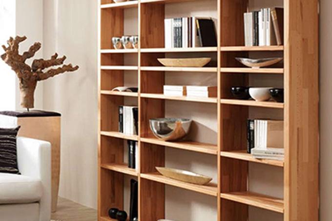 raumteiler regal massivholz holz wandregal regal raumteiler regale bcherregale holz buche wei. Black Bedroom Furniture Sets. Home Design Ideas