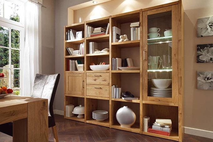 Bücherregal System bücherregale wandregale casa dormagen massivmöbel