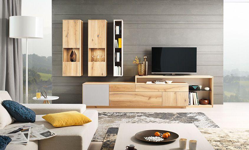 Massivholzmöbel wohnzimmer  Wohnzimmer - Möbel & Wohnideen aus Massivholz • Casa Dormagen